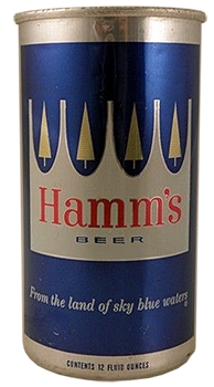Hamm's DWI beer can